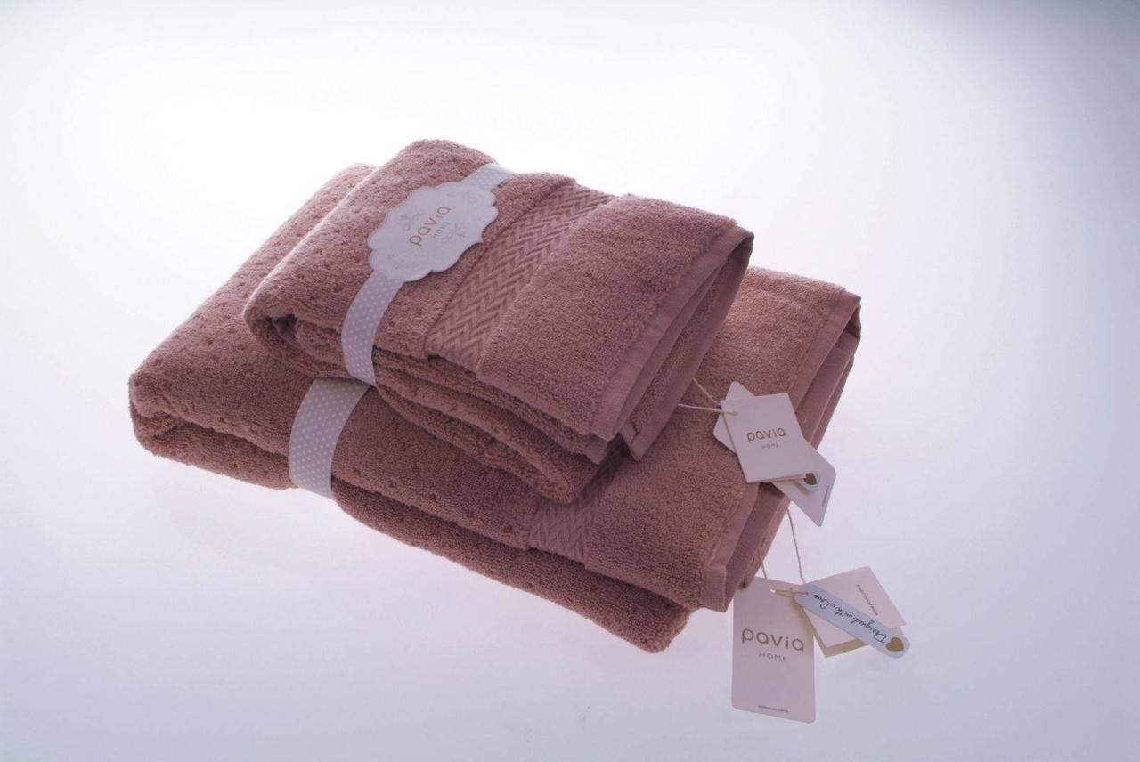 Набор полотенец tint (50*85,75*150)  фирмы PAVIY