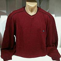Реглан мужской темно бордовый цвет  мягкий
