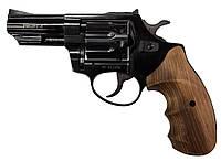 Револьвер под патрон Флобера Profi 3'' Black с деревянной рукоятью
