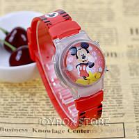 """Детские наручные часы """"Микки Маус (Mickey Mouse)"""" с подсветкой"""