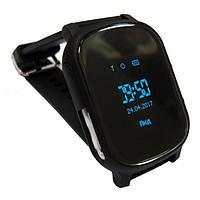 Смарт часы-телефон с GPS T58 черные, фото 1