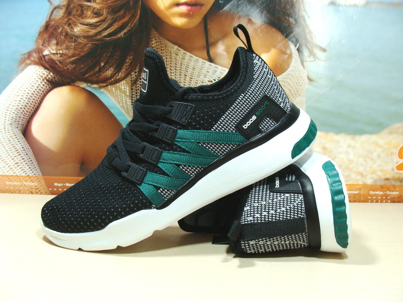 Мужские кроссовки BaaS ADRENALINE GTS 1 черно-белые 43 р.