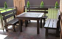 Комплект Стол и три лавки