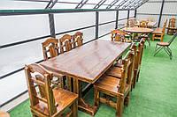 Комплект Стол и 8 стульев