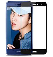 Защитное стекло Silk Screen для HuaweiP8 Lite 2017 (Black)