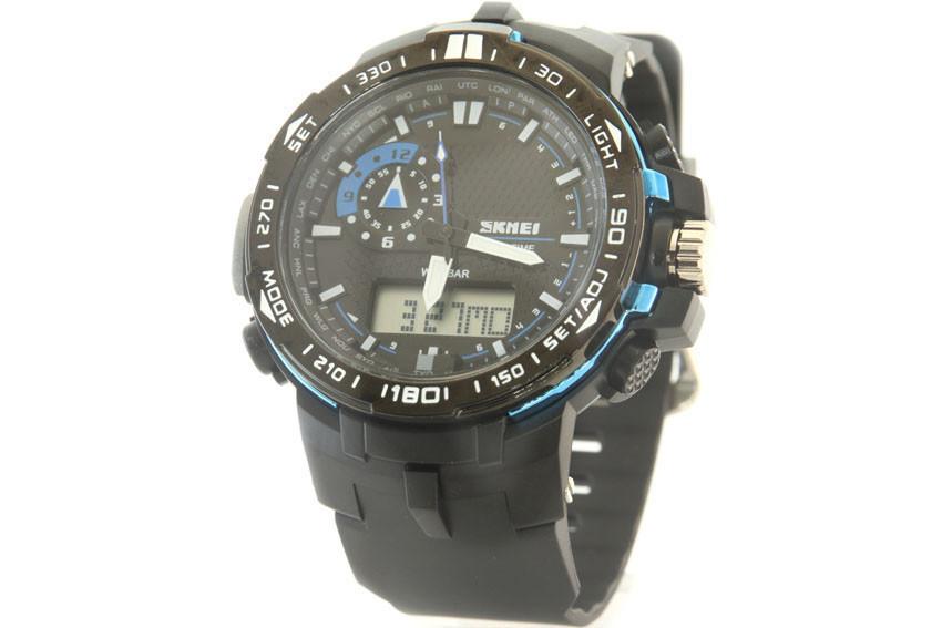 Мужские часы Skmei 1081 + ПОДАРОК: Держатель для телефонa L-301