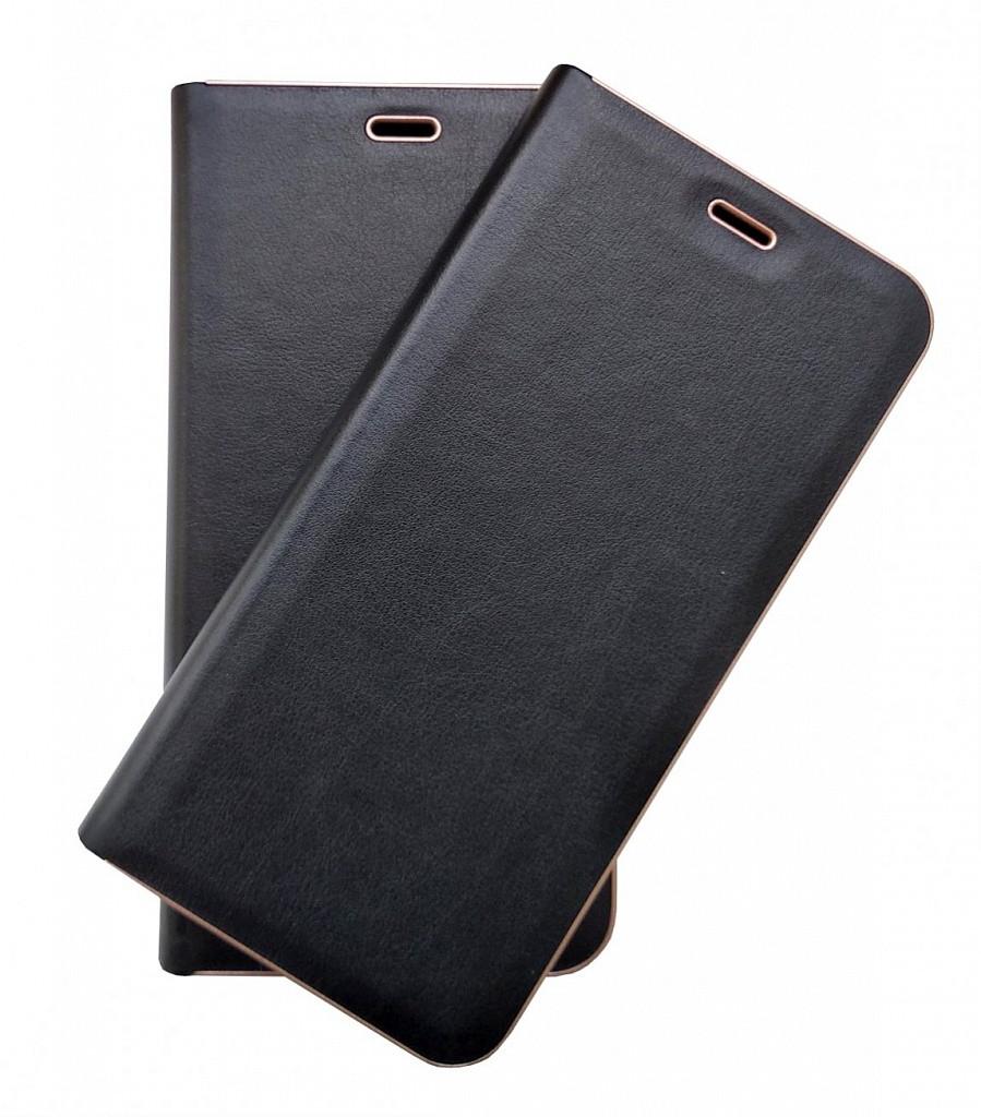 Кожаный чехол-книжка для Samsung Galaxy J7 Neo J701 Florence TOP №2 черная