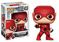 Фигурка Флеш - 13488 Funko POP Movies DC Justice League - The Flash #208, оригинал