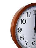 Часы настенные круглые Abir 201BLR  Коричневый, фото 2