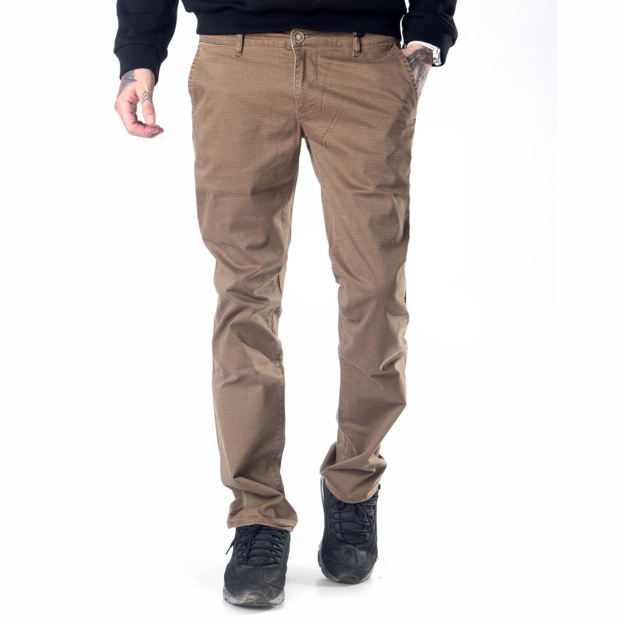 Мужские джинсы демисезонные 16-172 хаки