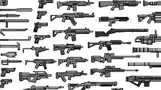 Сборные модели оружия, вооружения и амуниции в масштабе 1/35.