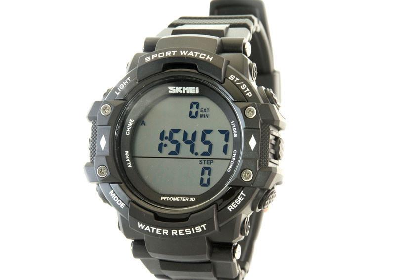 Мужские часы Skmei 1128 + ПОДАРОК: Держатель для телефонa L-301