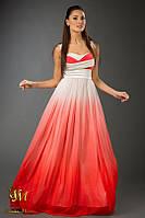 Оригинальное платье в пол