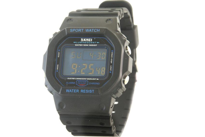 Мужские часы Skmei 1134 + ПОДАРОК: Держатель для телефонa L-301