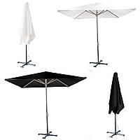 Зонт для летних кафе 4х4м разные расцветки