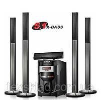 Комплект акустики 5.1 DJACK DJ-J5L 120W (USB/FM-радіо/Bluetooth)