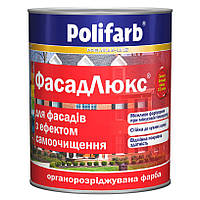 Краска органоразбавляемая POLIFARB ФАСАДЛЮКС фасадная 3,5 кг