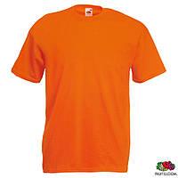 Футболка мужская L/50 Fruit of The Loom Valueweight T Оранжевый от 100 шт