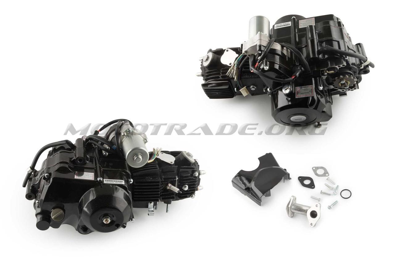 Двигатель   ATV 110cc   (АКПП, 152FMH-J, 1 передача вперед и 1 назад)