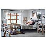 IKEA SNIGLAR Пеленальный стол, бук, белый  (200.452.05), фото 3