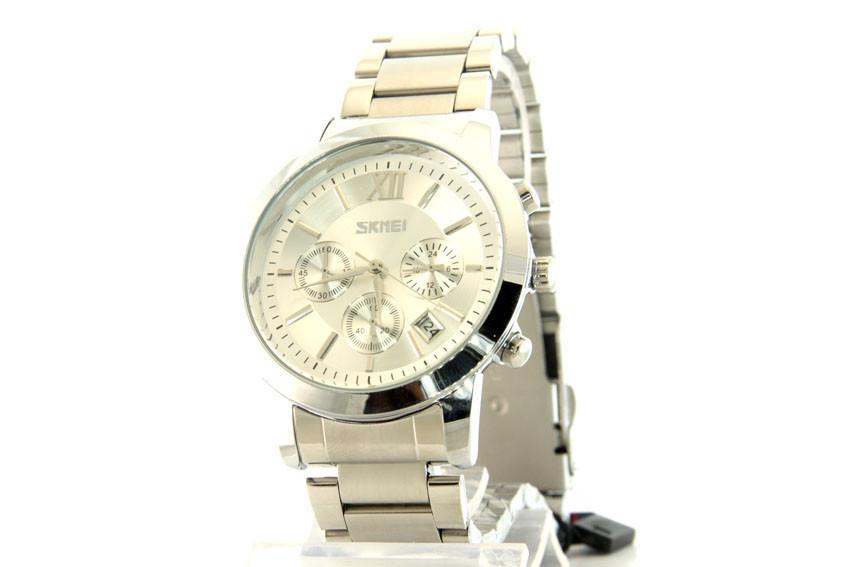 Мужские часы Skmei 9097 + ПОДАРОК: Держатель для телефонa L-301
