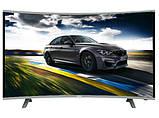 "Вигнутий телевізор SmartTV 39"" 4K UHDTV,LED, IPTV, Android,T2,WIFI, Curved TV НІМЕЧЧИНА оригінал!, фото 4"