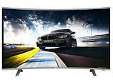 "Вигнутий телевізор SmartTV 39"" 4K UHDTV,LED, IPTV, Android,T2,WIFI, Curved TV НІМЕЧЧИНА оригінал!, фото 5"