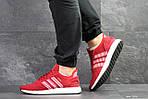Мужские кроссовки Adidas Iniki (красные) , фото 4