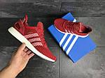 Мужские кроссовки Adidas Iniki (красные) , фото 5