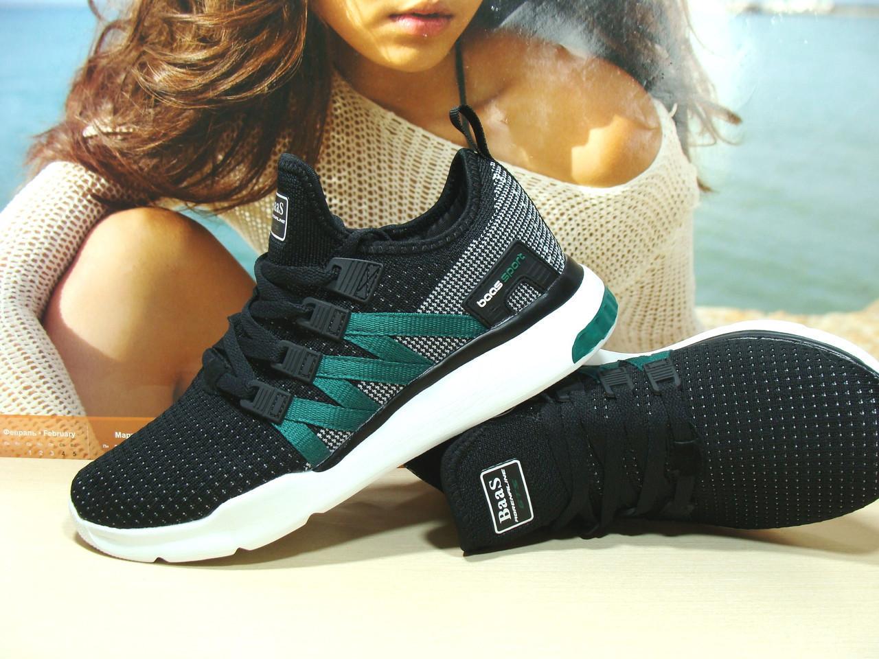 Мужские кроссовки BaaS ADRENALINE GTS 1 черно-белые 46 р.