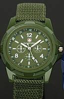Мужские часы Swiss army Gemius army зеленый
