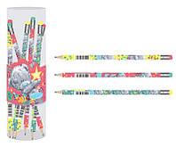 Карандаш графитовый 1 Вересня Me-to-you HB с ластиком микс 3 дизайна (280513)