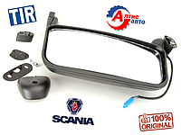 Большое зеркало Scania (на Скания) электрическое + обогрев серии 4, P,G,R,T