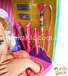 Кукла-манекен для причесок Defa Luc 8415 с аксессуарами / голова-манекен для причесок с плойкой, расческой, фото 3