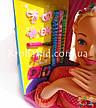 Кукла-манекен для причесок Defa Luc 8415 с аксессуарами / голова-манекен для причесок с плойкой, расческой, фото 2