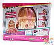 Кукла-манекен для причесок Defa Luc 8415 с аксессуарами / голова-манекен для причесок с плойкой, расческой, фото 6