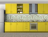 Винтажные узоры, Защитная пленка на кухонный фартук с фотопечатью, Текстуры, фоны, бежевый