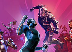 Картина GeekLand Fortnite Фортнайт постер к игре 60х40см FN.09.007