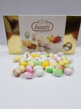 Шоколадный декор яйца (миндаль в шоколаде)