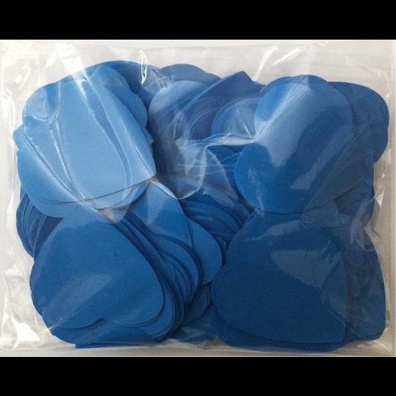 Конфетти Сердца, Синие, 500 гр