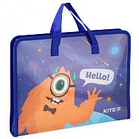 Портфель для школы KITE Jolliers A4 1 отделение пластик на молнии (K19-202)