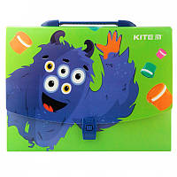 Портфель для школы KITE Jolliers A4 пластик замок (K19-209)