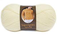 Пряжа Nako Superlambs Special 256 Полушерстяная для Ручного Вязания