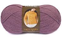 Пряжа Nako Superlambs Special 569 Полушерстяная для Ручного Вязания