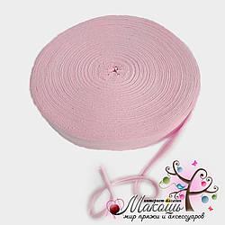 Трикотажная пряжа в ролике Барва, стандарт 7-9 мм, светло-розовый
