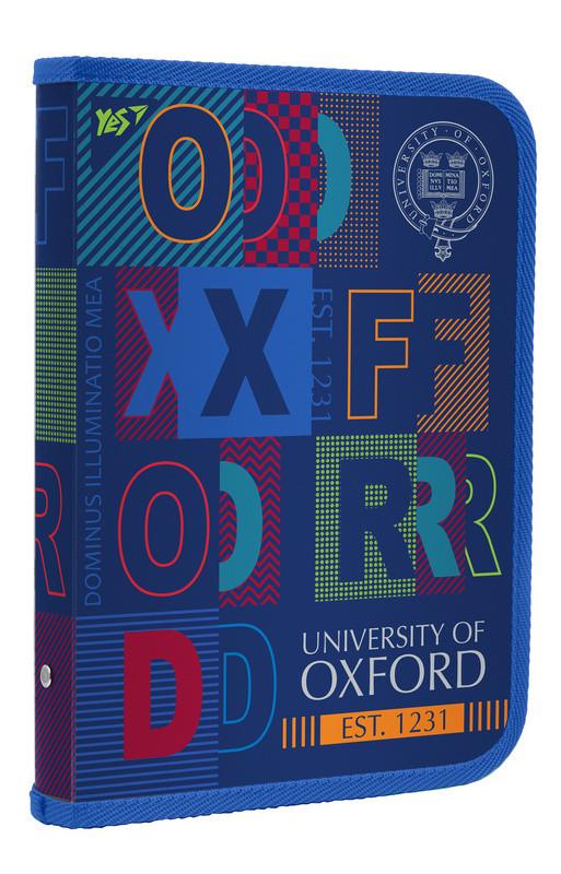 """Папка для зошитів пласт. на блискавки В5 """"Oxford"""" Yes 491576"""