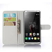 Чехол-книжка Litchie Wallet для Lenovo Vibe X3 Белый
