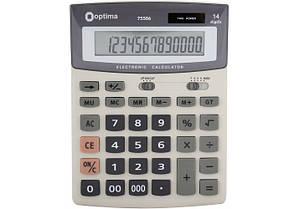 Калькулятор бухгалтерский 14 разрядный Optima O75506