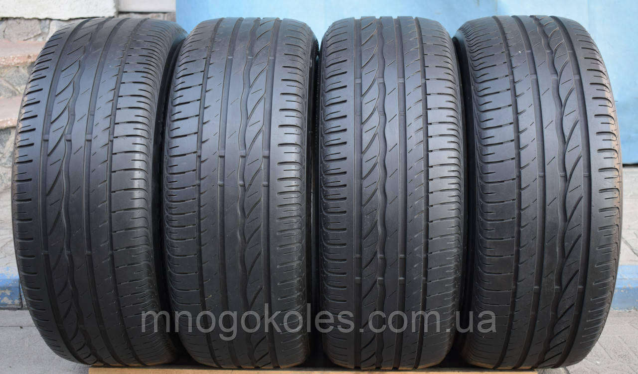 Шини б/у 225/55 R16 Bridgestone Turanza, ЛІТО, 5 мм, комплект