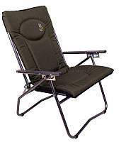 Кресло карповое складное Elektrostatyk F9 (нагрузка 110 кг.)